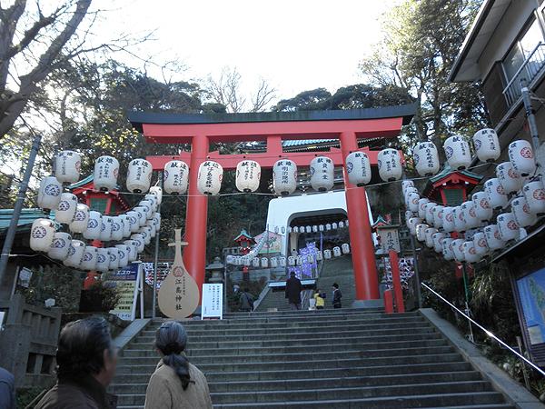 20120113江ノ島神社②