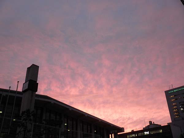 20120927夕焼け