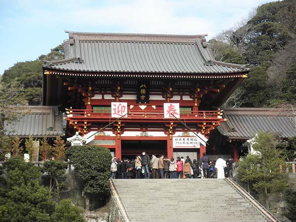 20130113鶴岡八幡宮