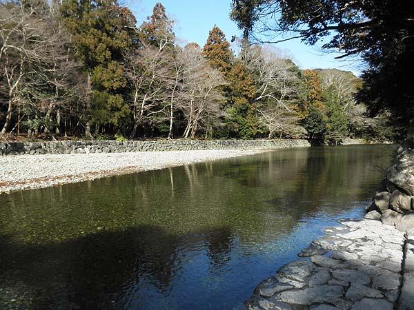 20130125内宮 五十鈴川