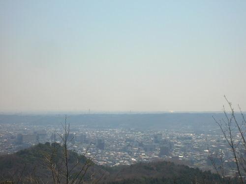 多峯主山から西武ドーム