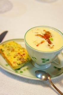 スープとケークサレ