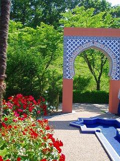 モロッコのバラ園