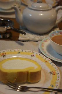 紅茶と一緒に・・