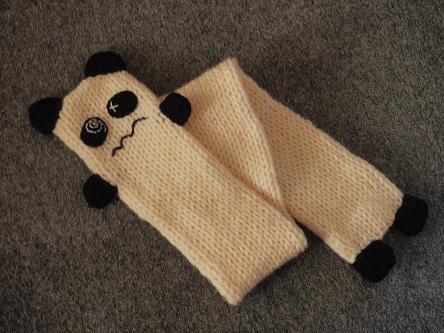 パンダのマフラー1