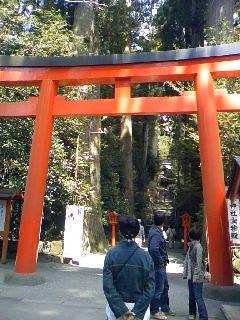 桂ちゃん箱根神社1