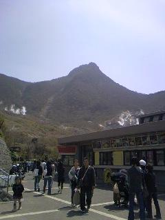 桂ちゃん大涌谷