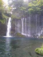 桂ちゃん白糸の滝