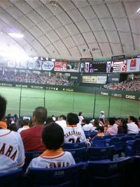 6/26東京ドームvsBaystars