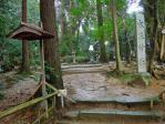 気多大社大玉神社への道