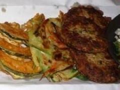 野菜&ひき肉のチョン