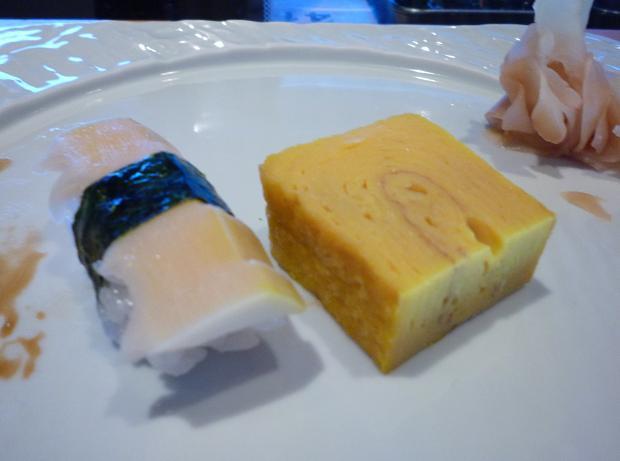 10『鮨屋台』 筍と玉子