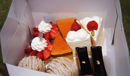 パティスリーSATSUKIのケーキ