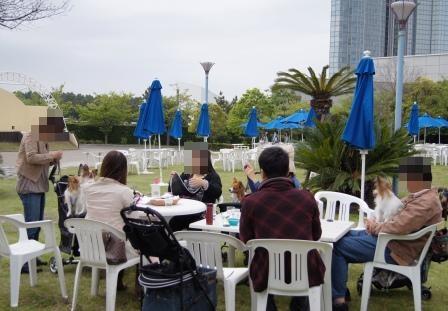 オープンエアドッグカフェ@ニューオータニ