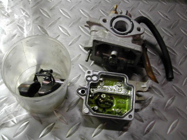 キャブレター洗浄004