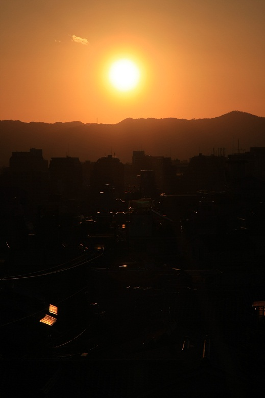 高台寺、黄昏、1