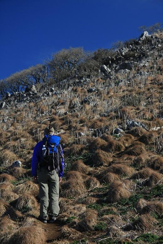 霊仙山登山、8