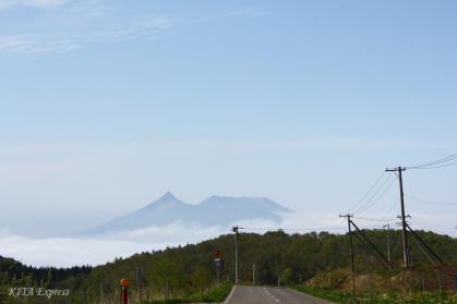 城岱牧場から観た駒ヶ岳1