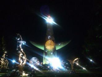 万博イルミネイト 2011 夜