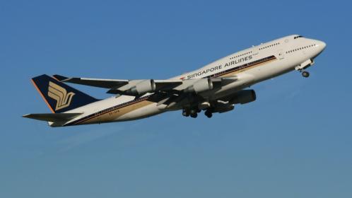 SINGAPOLE B747-400
