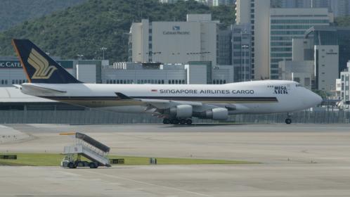 SINGAPOLECARGOm B747-400F