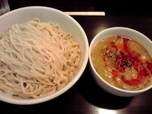 らぁ麺 Cliff 四川味噌つけ麺(2013年版 ラーメン総集編)
