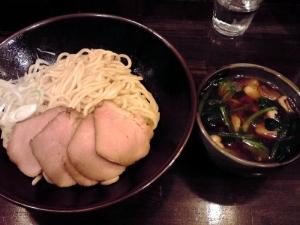 綿麺 フライデーナイト Part60 (14/1/24) あつもり醤油つけ麺