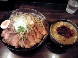 綿麺 つけ麺 大(2013年12月)