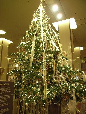 帝国ホテルのツリー