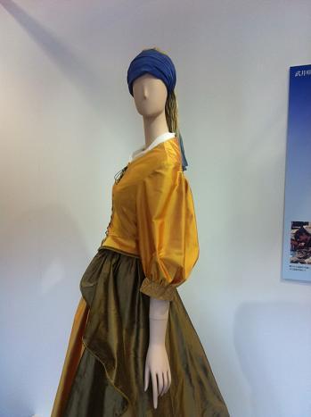 真珠の首飾りの少女・服装の再現