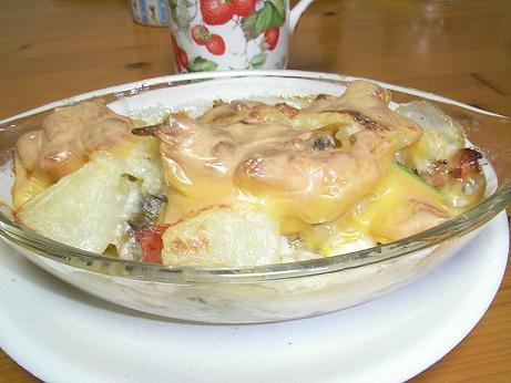 カレイと野菜のグラタン