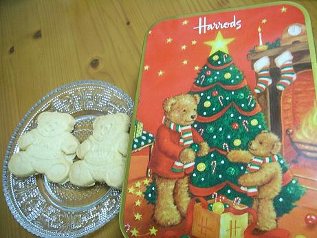 ハロッズのクリスマスクッキー