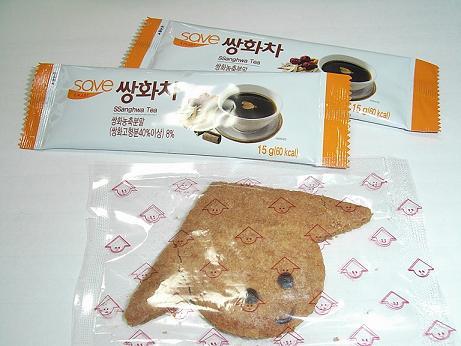 ☆頂き物☆ 韓国のお茶とベトナムのクッキー