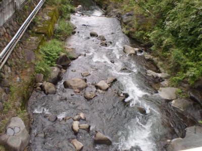 湯河原の川