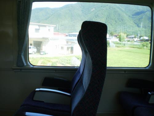 帰りの電車