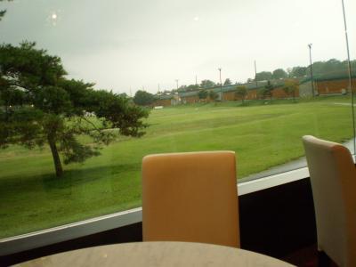 アウトレットのカフェ