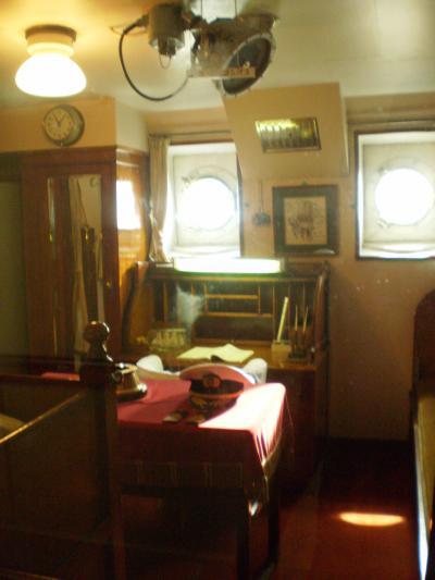 船長の部屋