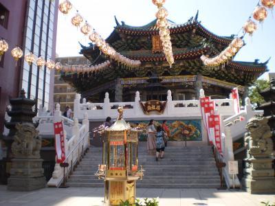 中国風の寺