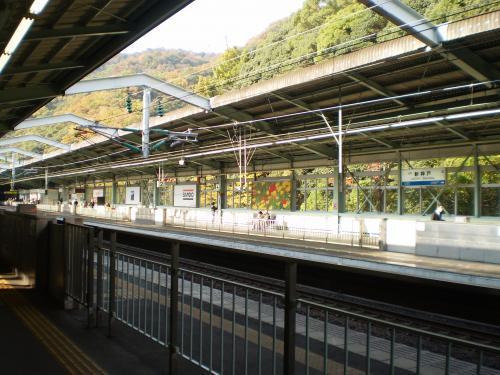 新神戸駅ホーム