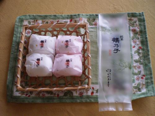鶴の子4つ
