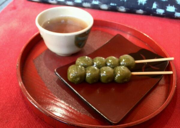 清水寺 茶団子