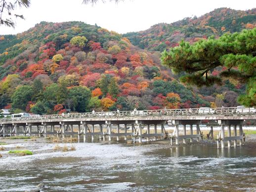 渡月橋&嵐山