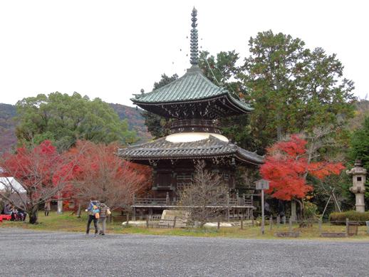 清涼寺 多宝堂