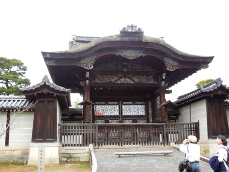 仁和寺 勅使門