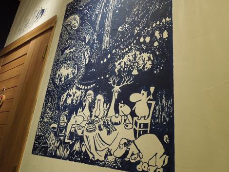 ムーミン壁画