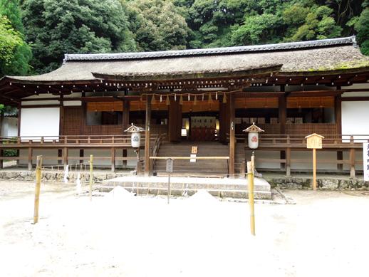 宇治上神社 拝殿