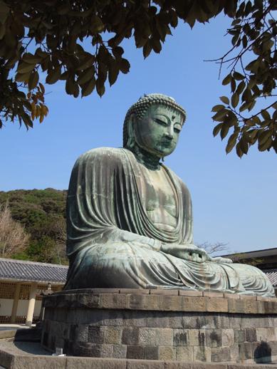 鎌倉 大仏斜め横