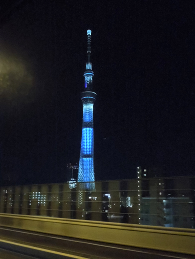東京スカイツリーライトアップ