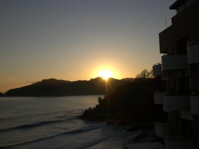 陸中海岸の日の出