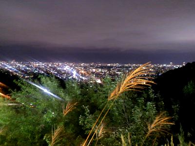 大倉山からの札幌の夜景